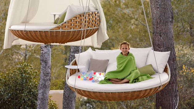 Nice Rest And Dream Away On The Swingrest Hanging Lounger | Home Design Lover Design Ideas