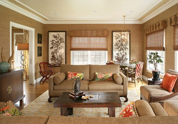 Genial Chinese Living Room Decoration