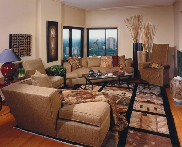 Genial 12. Minneapolis Asian Inspired Living Room