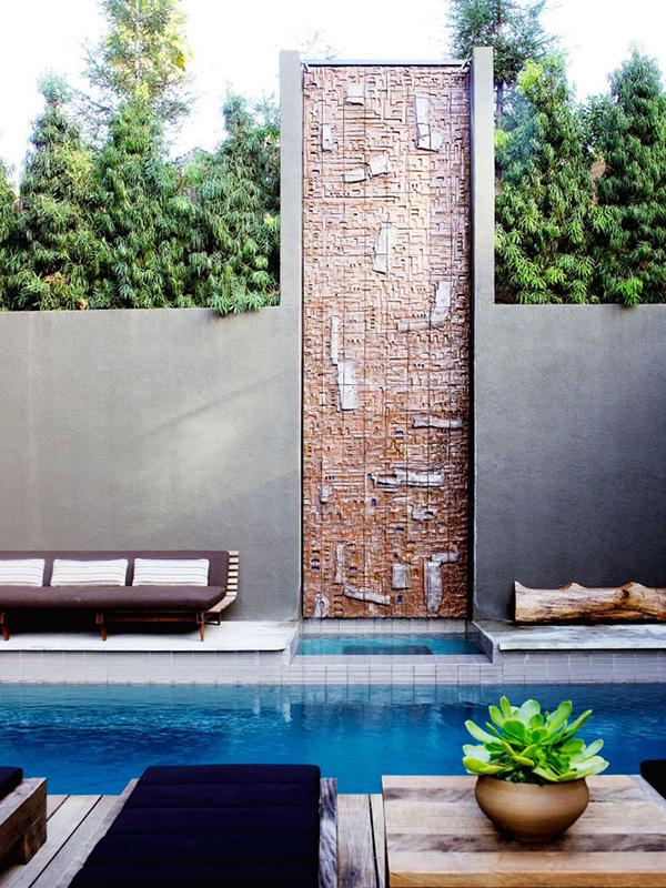 pool shower design
