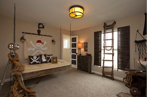 Pirate Adventure bed for toddler