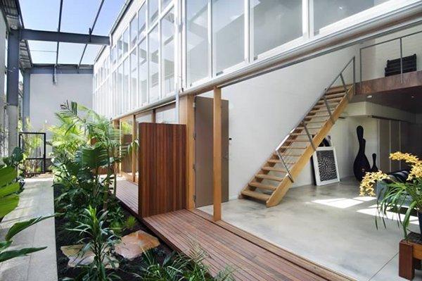 larger garden