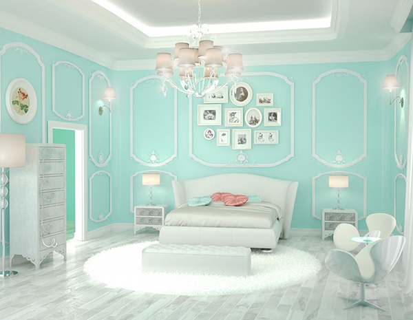 20 bedroom paint ideas for teenage girls home design lover - Blue bedroom paint ideas ...