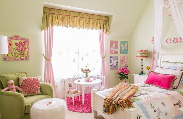 20 Chic and Beautiful Girls Bedroom Ideas For Toddlers | Home Design ...