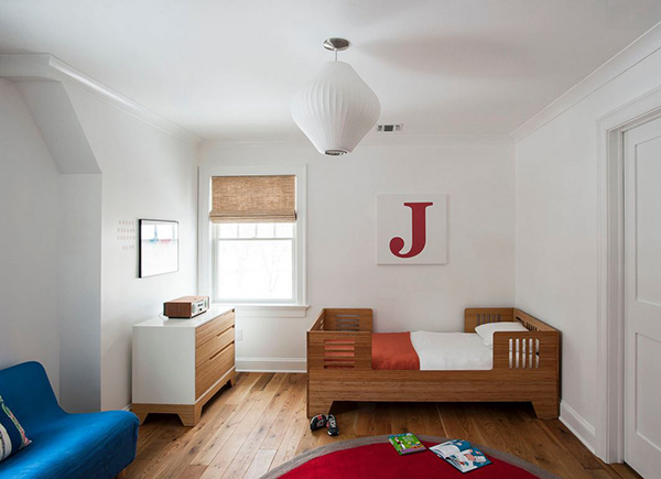 Transitional Touch Bedrooom kid