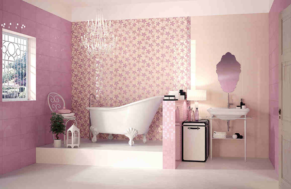 20 Lovely Ideas for a Girls\' Bathroom Decoration | Home Design Lover
