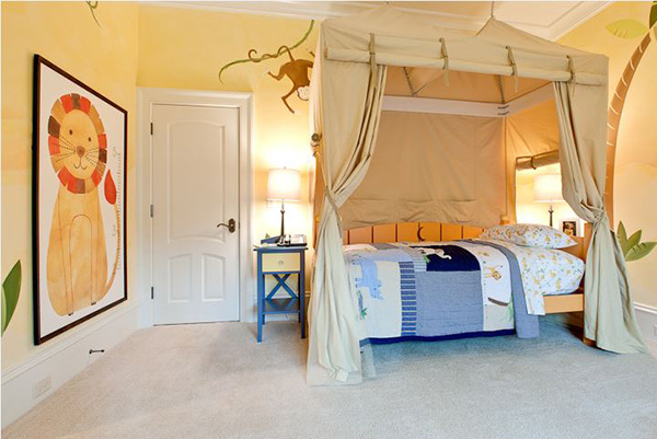 Indoor Safari Bedroom Idea
