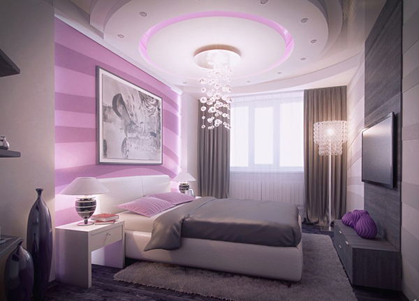20 master bedrooms with purple accents home design lover 19552 | 2 modern purple