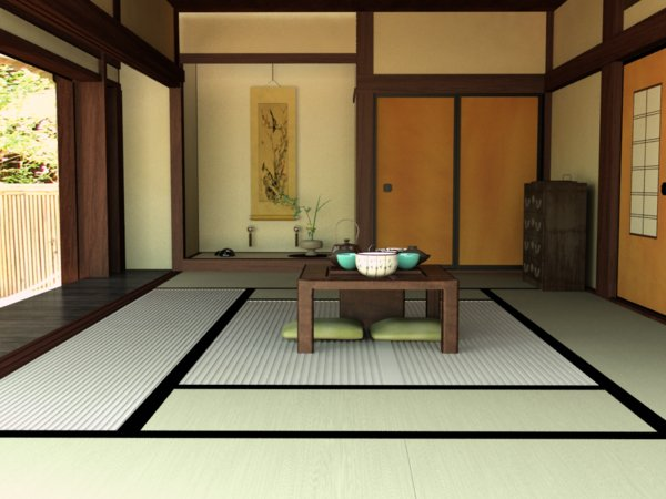 20 japanese home decoration in the living room home for Living room design japanese style