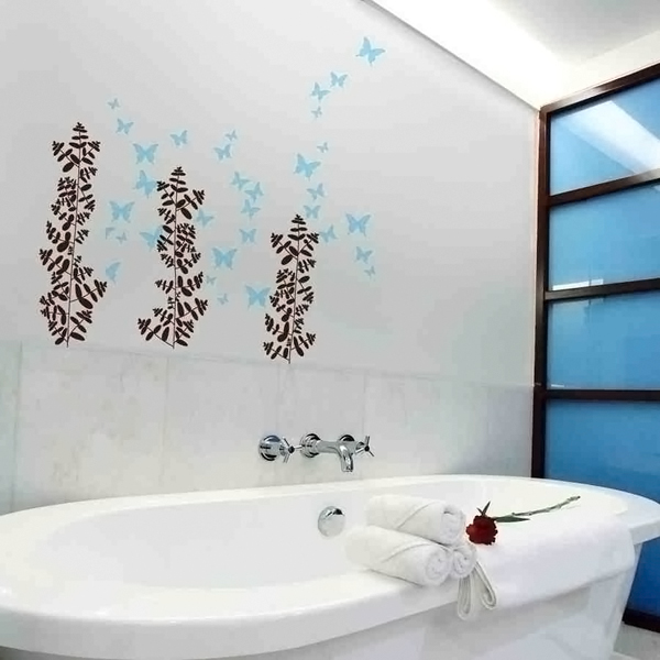 Butterflies Bathroom