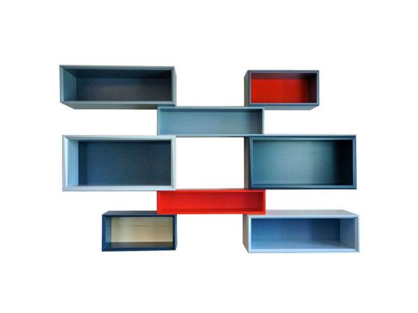colorful storage design