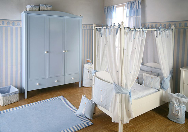 Sailboat luxury bedroom