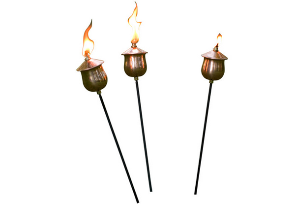 torches light outdoor