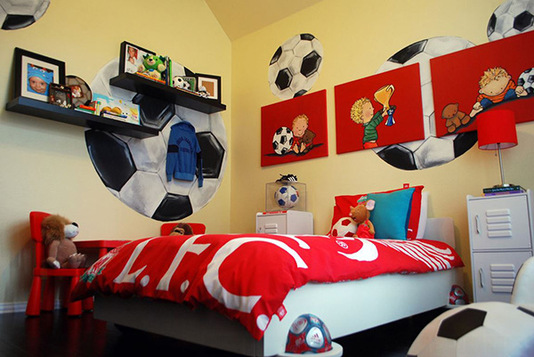 Ball Time Toddler Bedroom