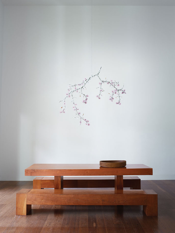 simple wood dining set
