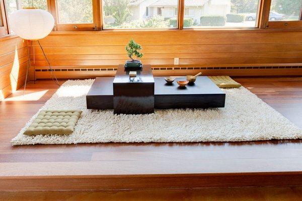 Zen tea area