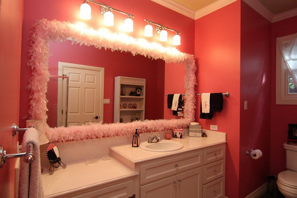 20 lovely ideas for a girls 39 bathroom decoration home for Girls bathroom ideas