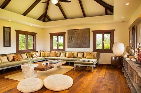 tropical modern estate