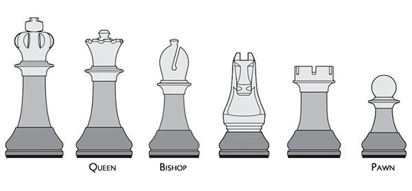 Chessmen Stool