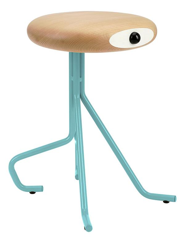 mahogany material stool