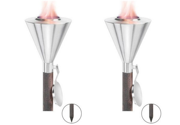 Modern outdoor torch