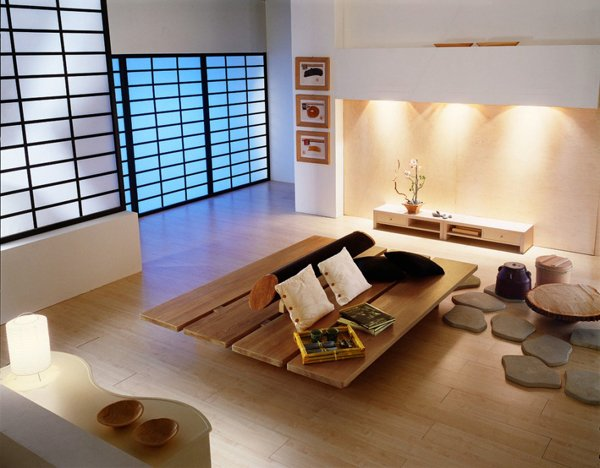Living Room Japanese Style