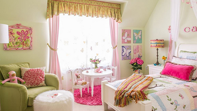 20 chic and beautiful girls bedroom ideas for toddlers home design lover - Idea for a toddler girls room ...