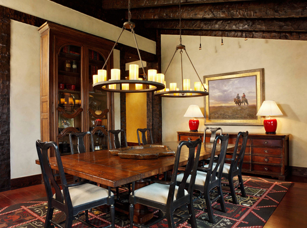 20 Unique Western Dining Rooms Home Design Lover