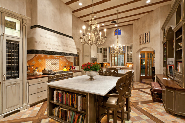 Mediterranean Kitchen Decors