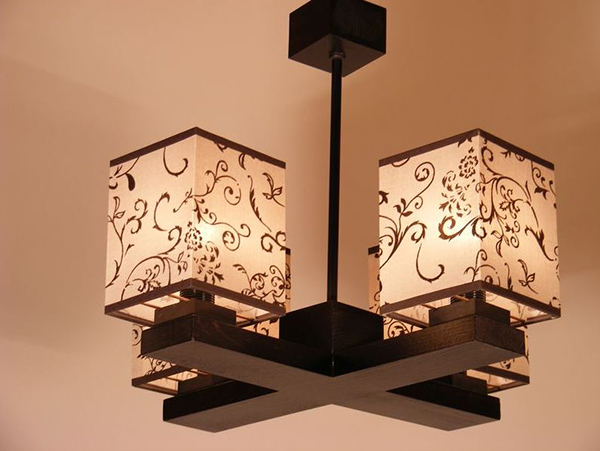Fabric Shade Chandelier Designs
