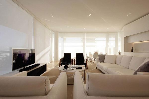 black beige white couches