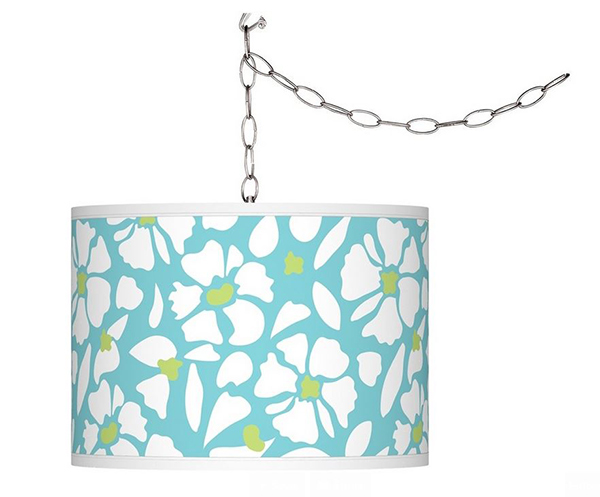 Floral Fun Shade Chandelier