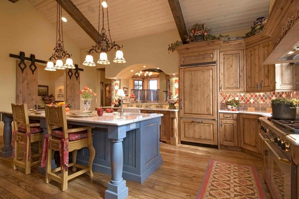 country feel kitchen