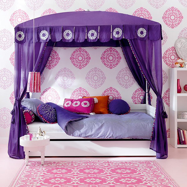 Morocco luxury bed