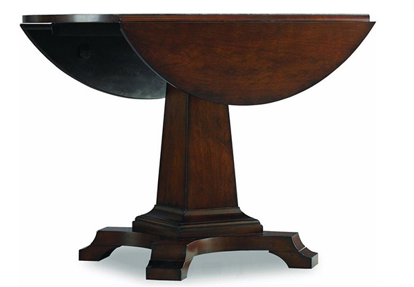 Leaf Pedestal Dining Table