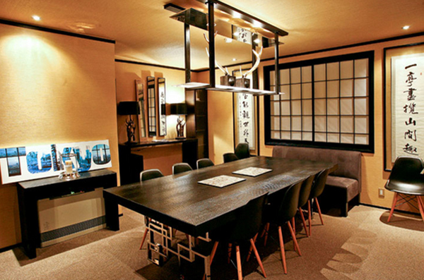 20 Japanese Home Decorations in the Dining Room | Home Design Lover
