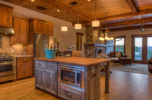 24 beautiful western kitchen decor home design lover - Modern rustic kitchen cabinets ...