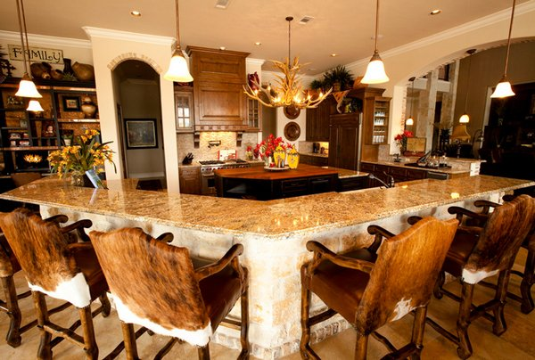 24 beautiful western kitchen decor home design lover for Western kitchen ideas