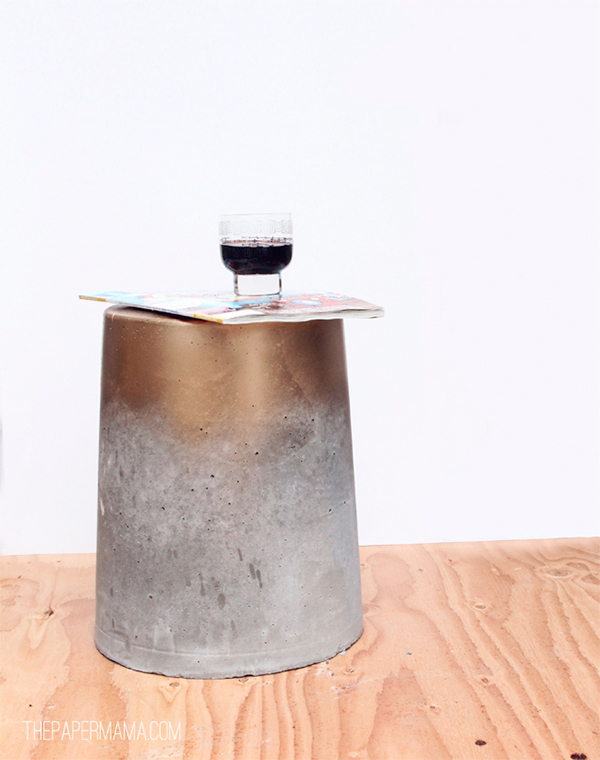 concrete stool design