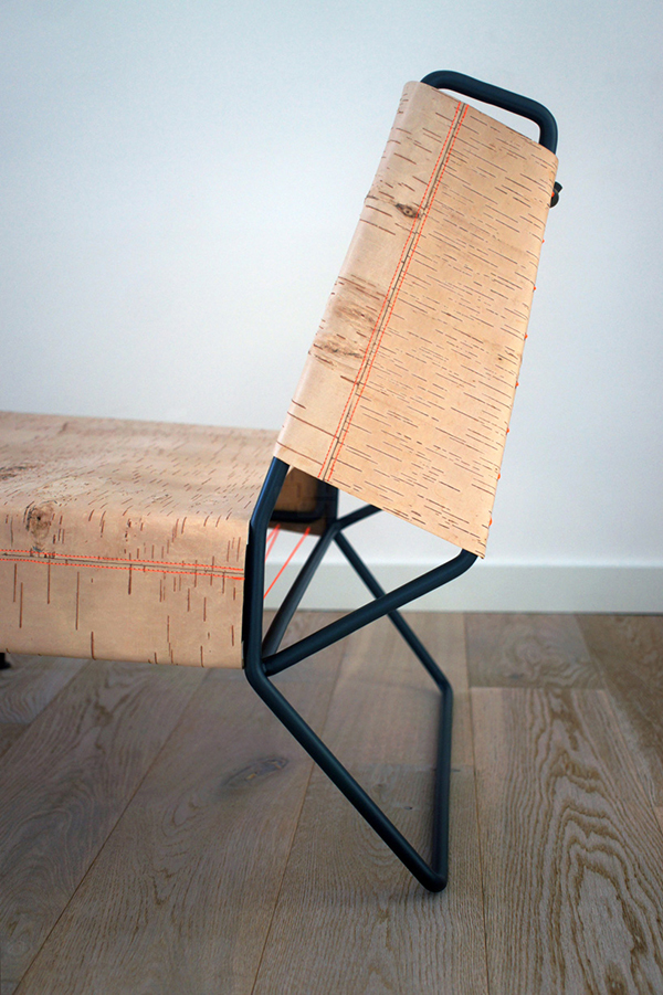 birch bark Chair