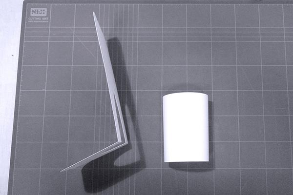 Vela aluminum lamp