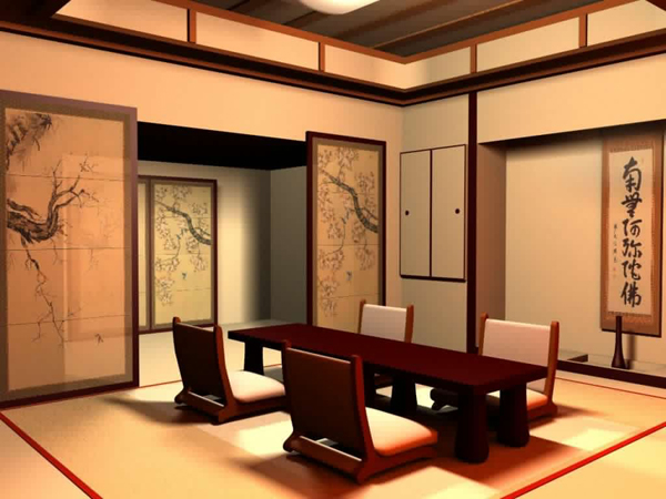 Traditional Japanese Dining Table 20 japanese home decorations in the dining room | home design lover