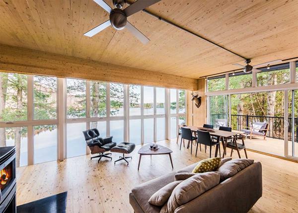 warm interior design