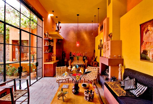 20 marvelous mexican living rooms home design lover - Mexican home decor ideas ...