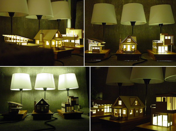 Miniature House Lamp
