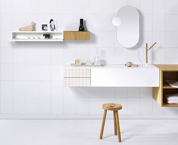 Modern modular bathroom