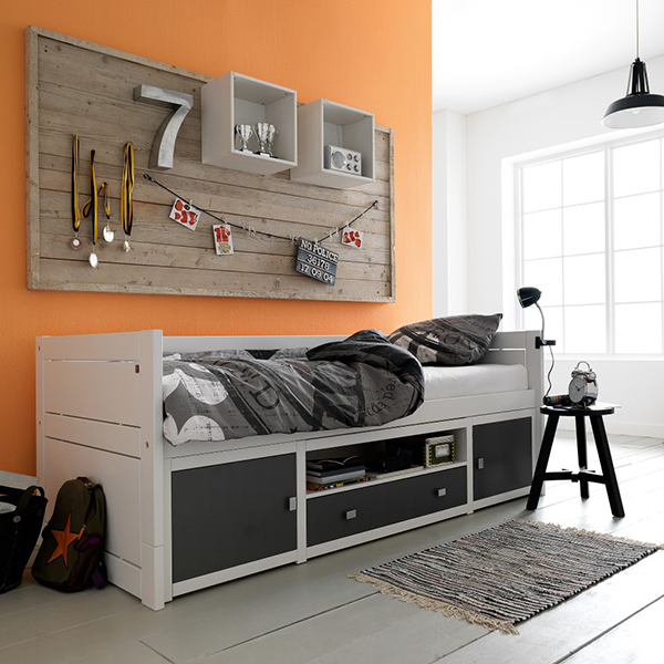 Kids Cabin Storage Bed