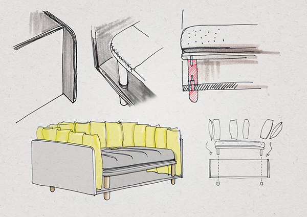Re-cinto Sofa