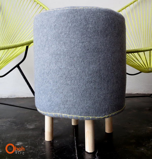 DIY Make a stool with bucket