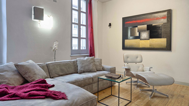 Cozy and Luxurious Charm of the Fuoco in Turin, Italy | Home Design Lover